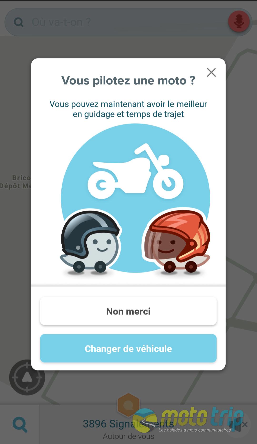 Waze et Google Maps se mettent à la moto - Le blog Moto-Trip
