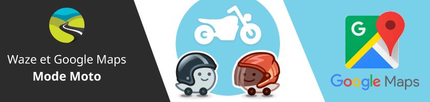 Waze et Google Maps se mettent à la moto