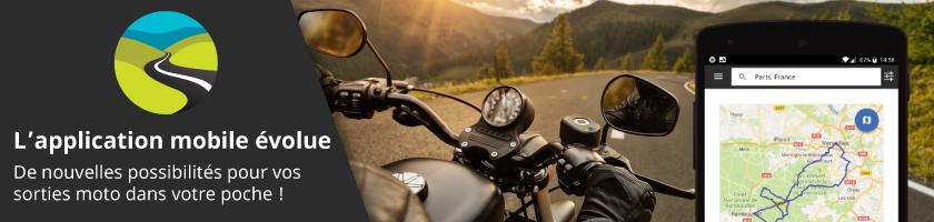 L'application mobile évolue : de nouvelles possibilités pour vos sorties moto !