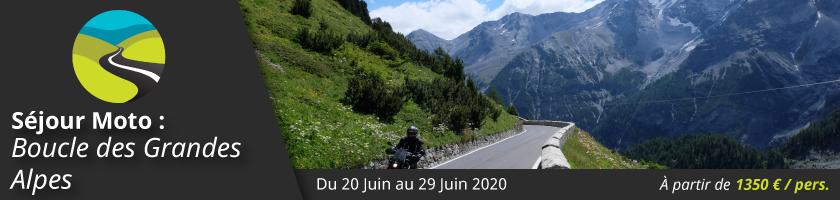 Séjour Moto : Boucle des Grandes Alpes (France, Suisse, Italie, Autriche, Allemagne)