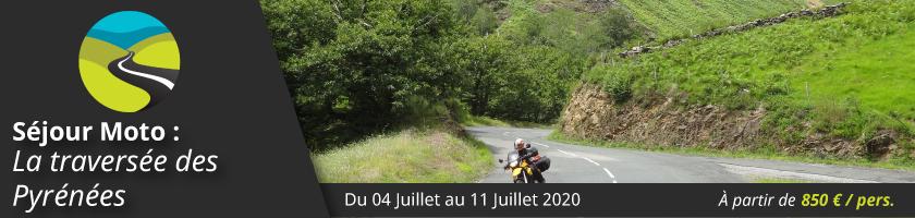 Séjour moto : La traversée des Pyrénées de Biarritz à Cadaquès