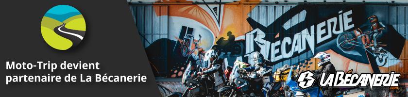 Moto-Trip devient partenaire de La Bécanerie