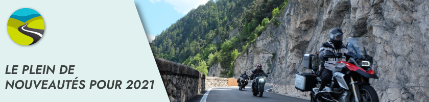 Les nouveautés Moto-Trip pour 2021 !